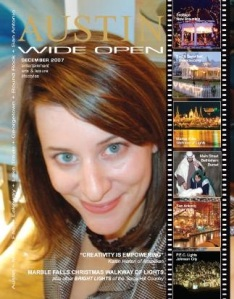 Austin Wide Open Magazine, December Issue