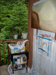 Outside Studio in Juneau