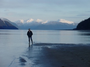 On Sandy Beach, Juneau, AK